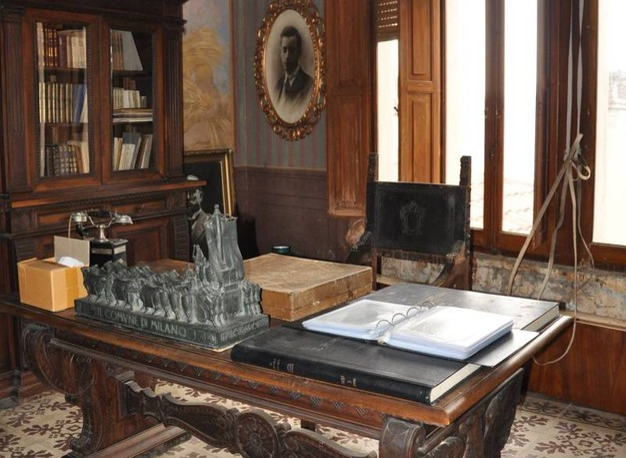 Mercato Saraceno (FC), Studio privato Arnaldo Mussolini