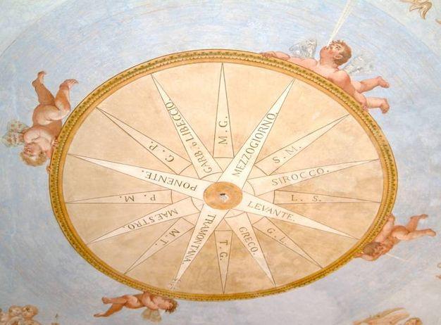 Parma, Appartamento di Ferdinando di Borbone Osservatorio soffitto