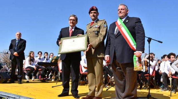 Consegna della cittadinanza onoraria al Savoia Cavalleria