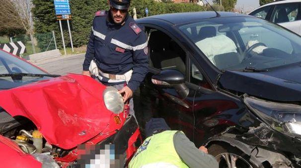 Uno degli incidenti