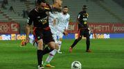 Alcuni momenti del match