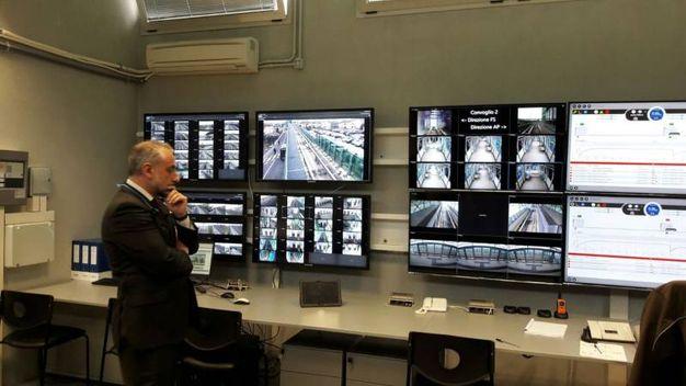 La sala controllo