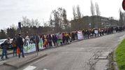 La manifestazione degli studenti contro la mafia (foto Artioli)