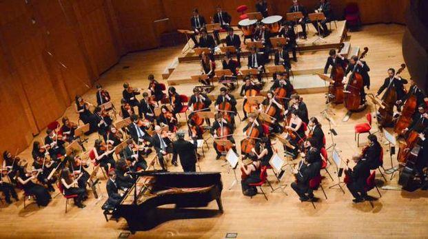 Orchestra del conservatorio Martini di Bologna