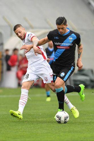 Francesco Fedato e Mariano Arini (foto LaPresse)
