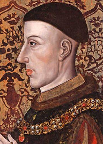 1431 - Enrico V diventa sovrano d'Inghilterra