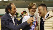 Calcio a 5, Italservice festeggia la promozione in A e la Coppa Italia (Fotoprint)