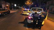 Rilievi della Polizia Municipale della Bassa Romagna (foto Scardovi)