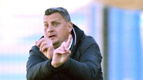 Andrea Camplone, allenatore del Cesena (foto LaPresse)