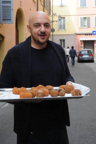 Vassoio di supplì (foto Fiocchi)