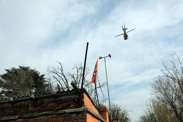 Ha partecipato anche l'elicottero della polizia (Schicchi)
