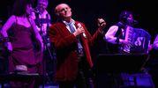 Renzo Arbore  al Teatro Verdi  (Tania Bucci e Marco Mori/New Press Photo)