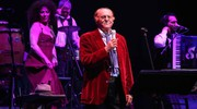 Renzo Arbore  al Teatro Verdi  (Tania Bucci e Marco Mori/New Press Photo)