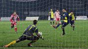 Cori spiazza Turrin: 1-0 Santarcangelo  (foto Petrangeli)