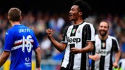 Sampdoria-Juventus 0-1, Cuadrado (Afp)