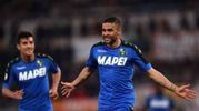 Roma-Sassuolo 0-1, Defrel (Afp)