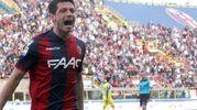 Bologna-Chievo 2-1, Dzemaili (Ansa)