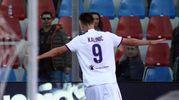 Crotone-Fiorentina 0-1, Kalinic (Ansa)