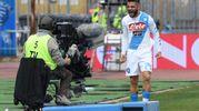 Empoli-Napoli 0-1, Insigne (Ansa)