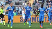 Empoli-Napoli 2-3, Maccarone (Afp)