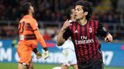 Milan-Genoa 1-0. Mati Fernandez (Ansa)