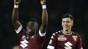 Torino-Inter 2-1, Acquah (Afp)