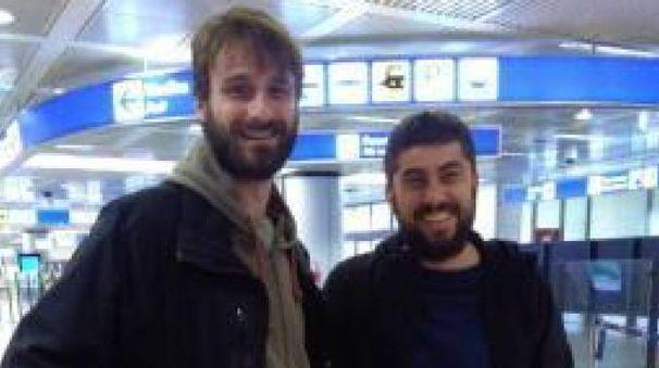 I giornalisti di Report Paolo Palermo e Luca Chianca (Ansa)