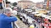 Momenti culminanti della Segavecchia sono le sfilate dei carri allegorici nelle due domeniche (Foto Fantini)