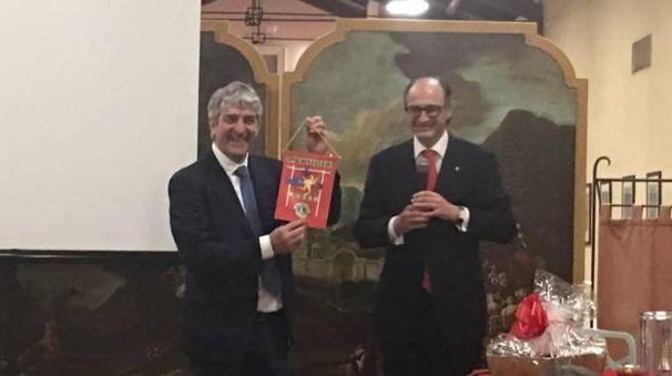 Paolo Rossi con Sandro Gerli