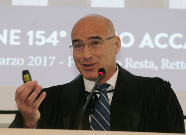 Il rettore Ferruccio Resta (Newpress)