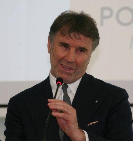 L'imprenditore Brunello Cucinelli (Newpress)