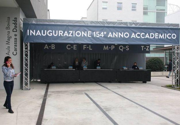 L'inaugurazione dell'anno accademico del Politecnico (Newpress)