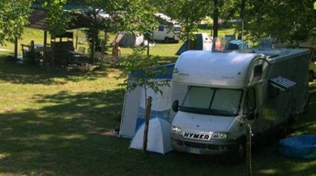 Un campeggio