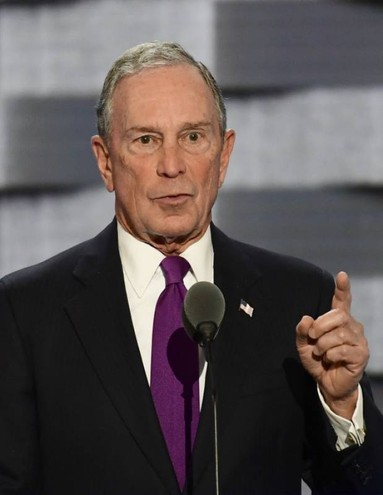 10 - Micheal Bloomberg