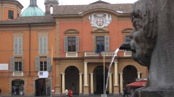 Il municipio di Reggio Emilia