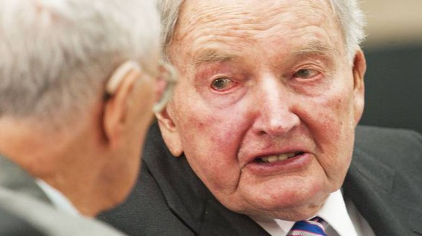 Il miliardario  David Rockfeller è morto a 101 anni (Afp)
