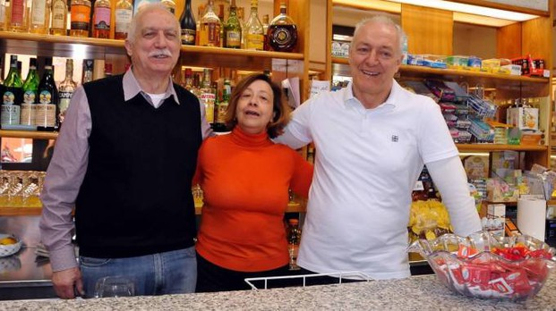 Il bar Ginocchi (foto Nizza)