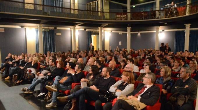 La storica sala cinematografica in via Mentana (Frasca)