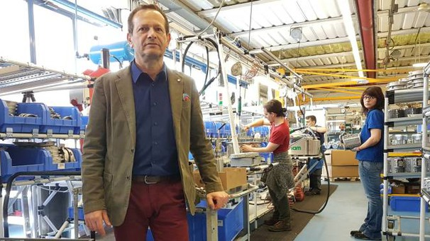 Aldo Neri, amministratore unico della Neri motori