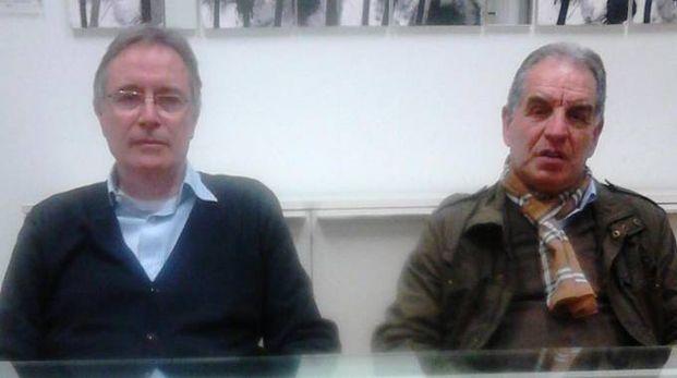 L'assessore Piergiorgio Balboni insieme a Gianni Rosati