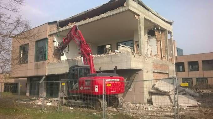 Palazzo degli Specchi, demolizione