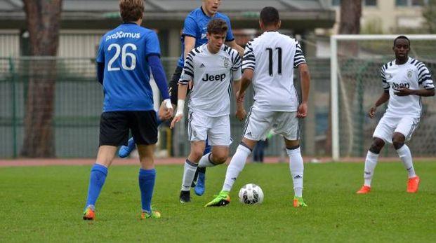 Un momento di Juventus-Bruges (Umicini)