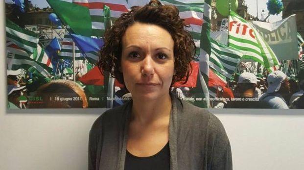 Silvia Spinaci, responsabile della Cisl