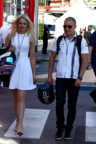 Emilia Pikkarainen, compagna di Valtteri Bottas nuovo pilota della Williams (LaPresse)