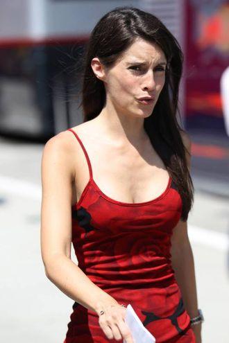 Marion Jolles, moglie di Romain Grosjean, pilota della Haas (LaPresse)