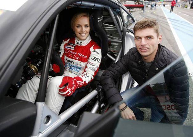 Mikaela Ahlin-Kottulinsky è la fidanzata di Max Verstappen, pilota della Red Bull (Olycom)