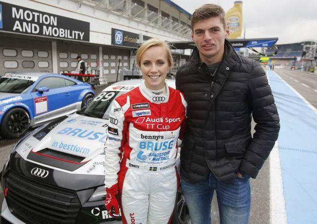 La fidanzata di Verstappen è una pilota svedese (Olycom)