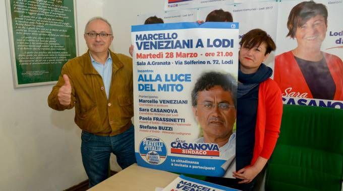 Sara Casanova e Stefano Buzzi (Cavalleri)
