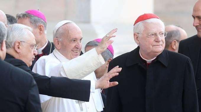 Papa Francesco in Duomo a Milano