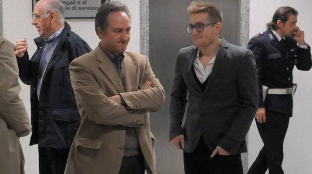 Massimo Poliseno con il padre Giuseppe